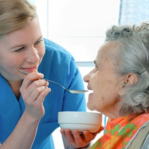 CNA Skills - Helping patients eat